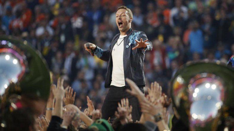 Mirá las actuaciones de Coldplay