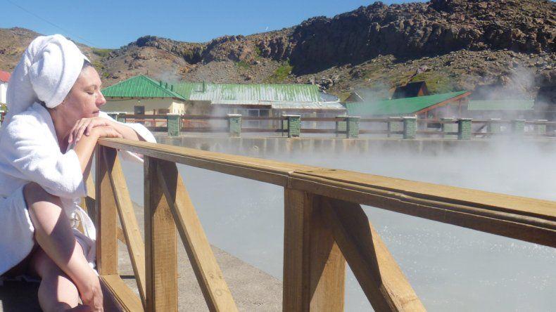 Quieren incorporar nuevas piletas para los baños termales en Copahue.