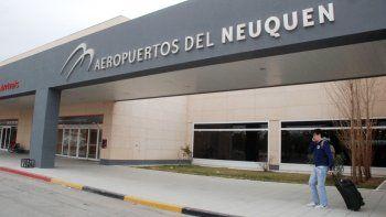 El avión fue detenido en el Aeropuerto de Neuquén el lunes a las 21:20.
