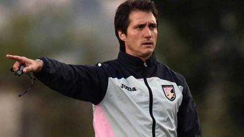 Barros Schelotto se fue del Palermo de Italia