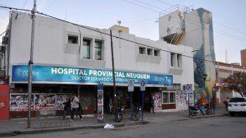 El Hospital Castro Rendón, adonde están internados los motociclistas.