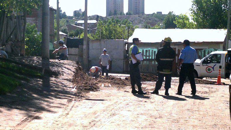 Una máquina provocó un escape de gas en Batilana y Doctor Ramón.
