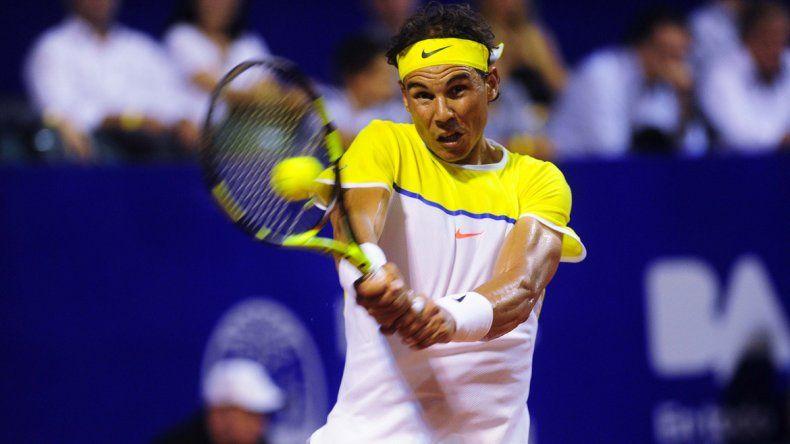 Nadal venció a Mónaco en el ATP de Buenos Aires.