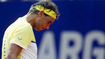 Rafa, decepcionado por no poder volver a ganar en Buenos Aires.