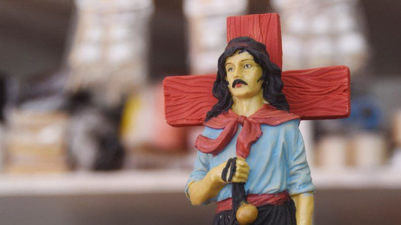 El Gauchito Gil encabeza las solicitudes de quienes van a una santería.