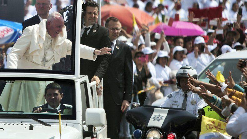 El Papa Francisco dio un histórico discurso en su visita a México.