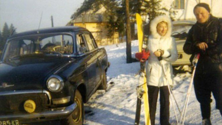 Karol Wojtila y Anna Teresa Tymieniecka