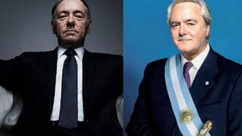 Mirá el cruce entre Frank Underwood y Pinedo por la presidencia
