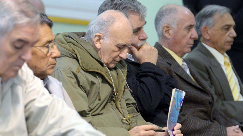 Cuatro de los condenados a los que la APDH exige elevar las penas.