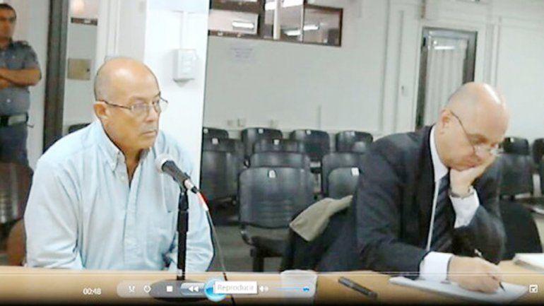 Guillermo Russo (izquierda) en su defensa dijo que era sonámbulo.
