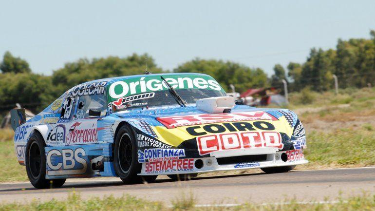 Camilo Echevarría logró su mejor posición desde que está en el TC.