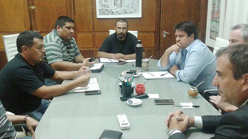 Representantes de ATE se reunieron con funcionarios provinciales.