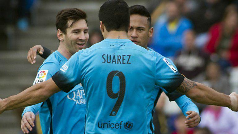 El Barcelona superó a Las Palmas con un agónico 2 a 1