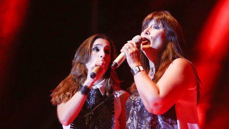 Soledad Pastorutti y Marité Berbel.