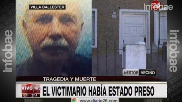 Los vecinos llamaron al 911 para advertir que de la casa de Villa Ballester salía un olor nauseabundo. Tuvieron que tirar la puerta abajo para entrar.