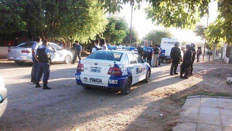 La Policía encontró a Popeye Rodríguez en el barrio Otaño de Plaza Huincul.