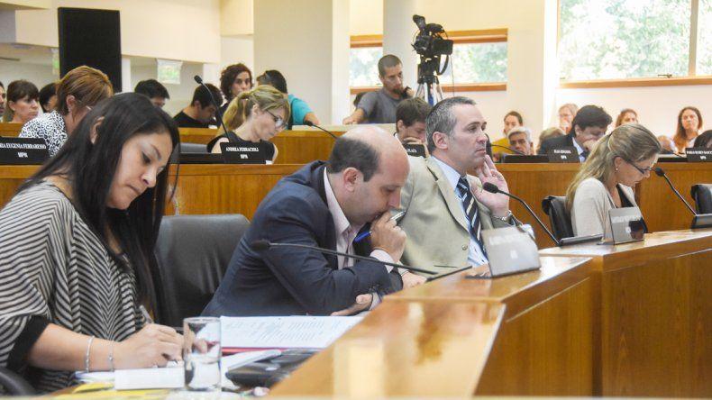 Los concejales del MPN no quieren la figura del viceintendente