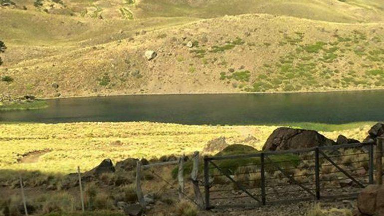 Laguna Los Carrizos en Caviahue.