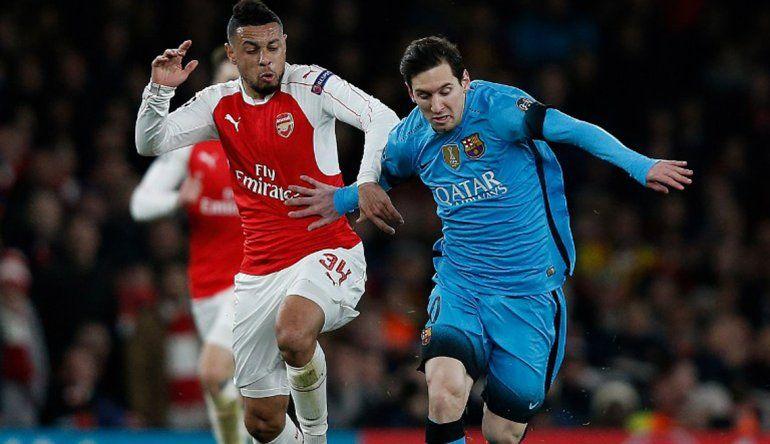 Champions League: Barcelona venció al Arsenal con dos goles de Messi