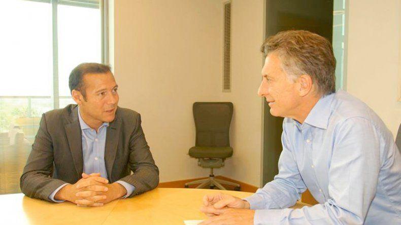 Gutiérrez continúa afianzando su relación con el presidente Macri.