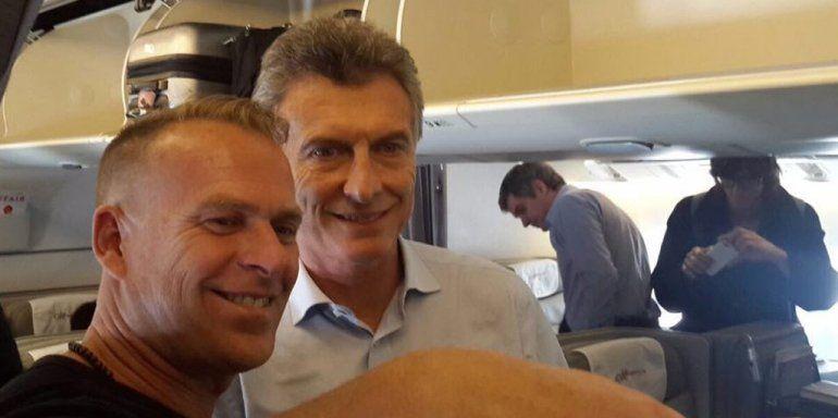 Foto publicada en Twitter por Mauricio Macri