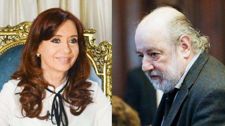 Cristina Fernández de Kirchner. El juez federal Claudio Bonadio.