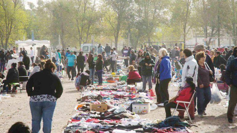 La Feria de Unión de Mayo es de las más concurridas de la ciudad.