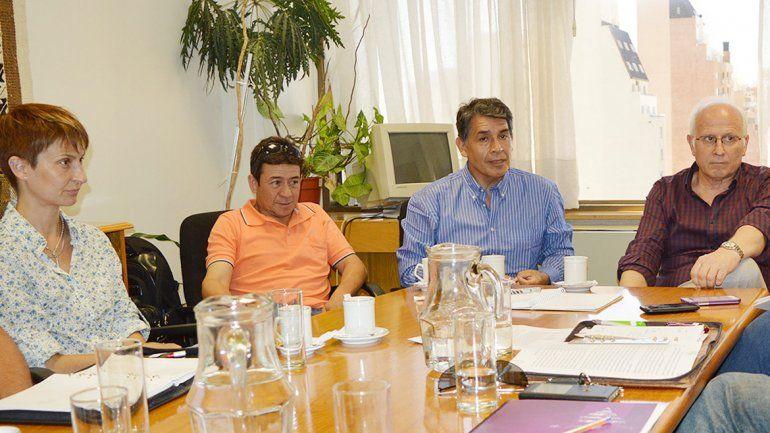 La reunión estuvo presidida por el ministro de Producción