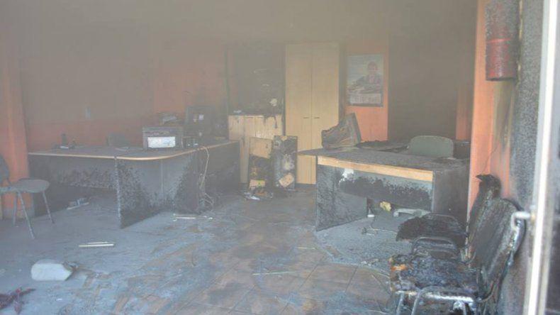El hombre que incendió una aseguradora pidió perdón