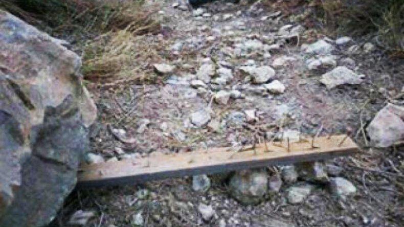 Bikers denuncian trampas mortales en senderos de montaña