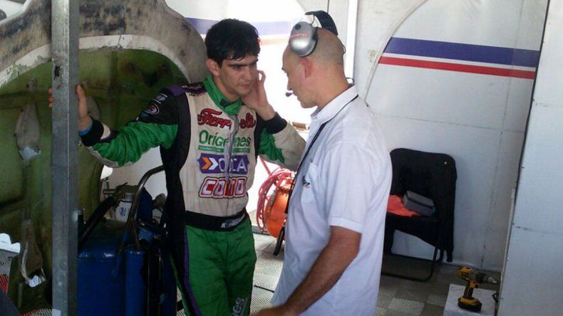 El TC puso primera en Centenario: Manu 8º y Camilo 31º