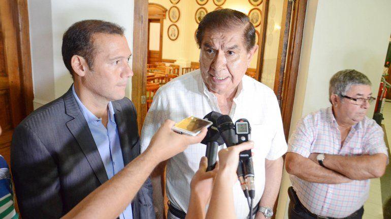Gutiérrez y Pereyra reclamarán a Nación las inversiones de YPF.