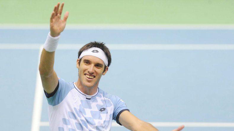 Leo Mayer dejó a Argentina con match point a favor ante Polonia.