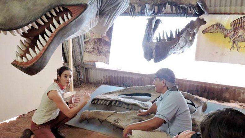 Un equipo de la televisión brasileña filmó durante tres días en el centro.