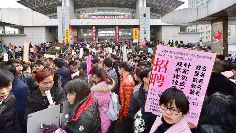 La población china