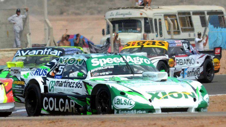 Canapino dominó la final del TC en el autódromo neuquino. La carrera fue lineal y sin sobrepasos