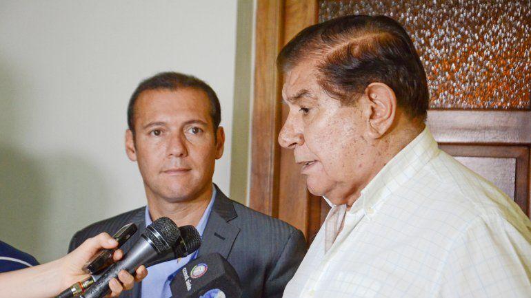 El gobernador y Pereyra estuvieron de reunión en reunión en Buenos Aires.