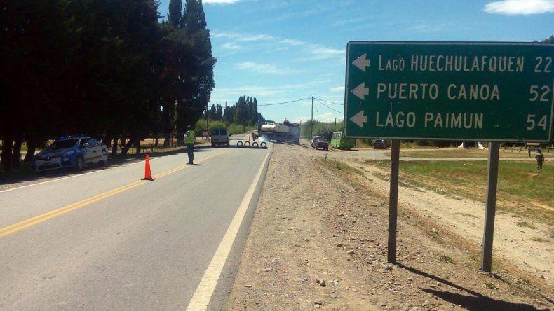 Camioneros bloquean parcialmente las rutas 40 y 61 en Junín