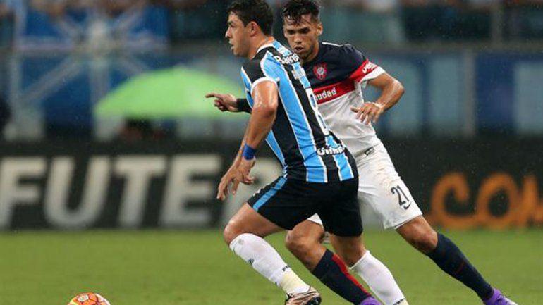 San Lorenzo empató con Gremio en Porto Alegre