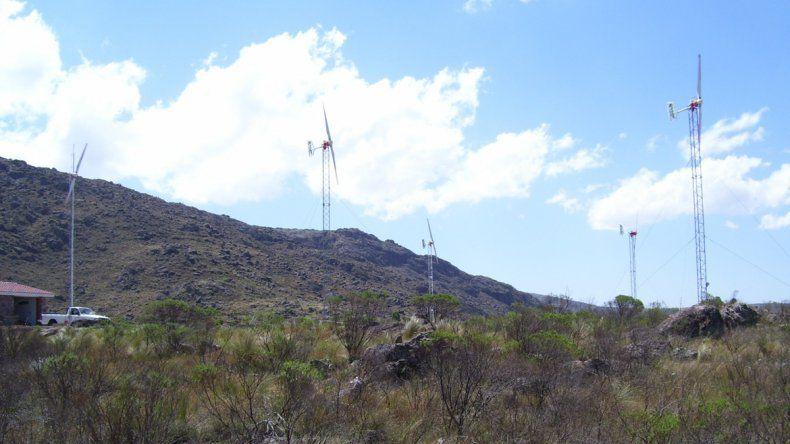 La provincia tiene en carpeta siete proyectos para instalar parques eólicos.