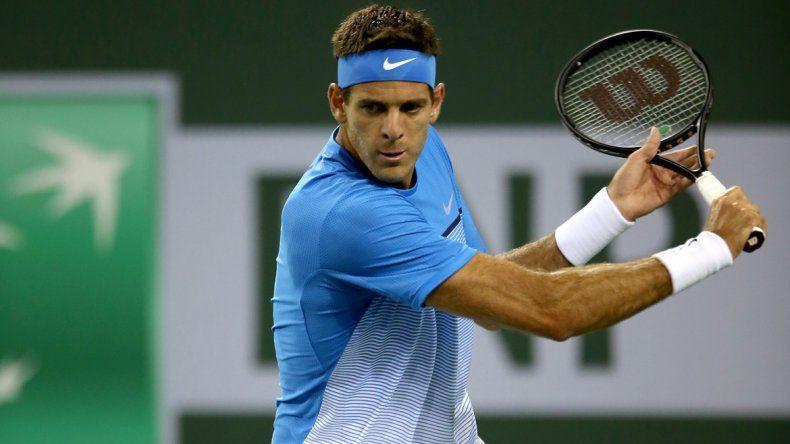 Sorpresa: Del Potro zafó de Federer, pero perdió con Zeballos