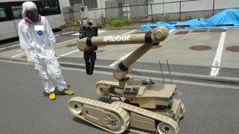 El circuito de los robots apenas resiste la radiación.