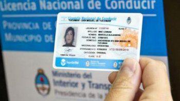 El 15 de julio entra en vigencia la licencia nacional de conducir