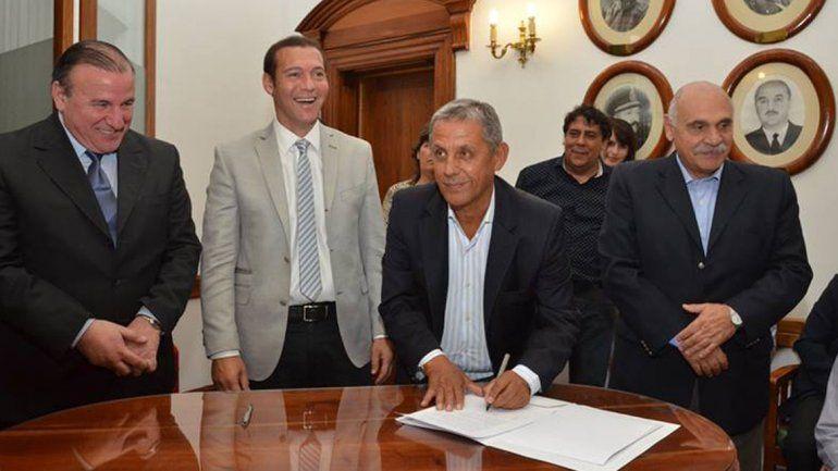Se firmó el convenio con Nación para la licencia nacional de conducir