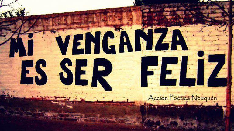 Acción Poética Neuquén también trabaja en conjunto con escuelas e instituciones.