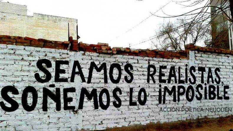 Acción Poética pintó más de 170 murales en la ciudad de Neuquén.