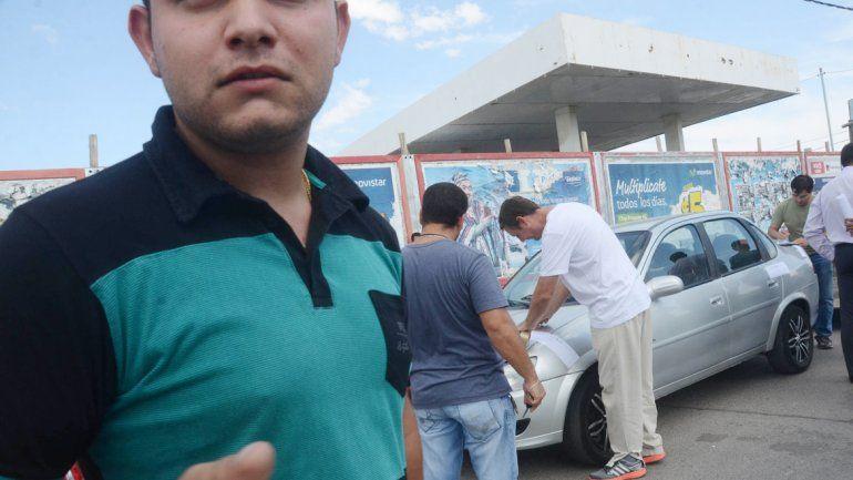 La Policía secuestra el Corsa del cual los gitanos no tenían papeles.