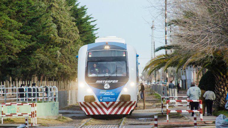 Para Quiroga, el tren sólo sirve para divertirse