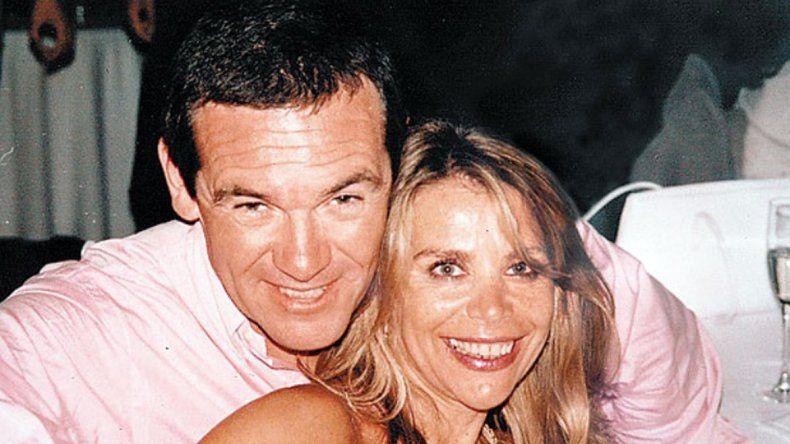 Norita y Marcelo en tiempos felices.
