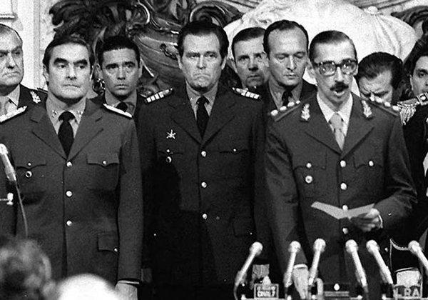 El general Jorge Rafael Videla y la Junta Militar